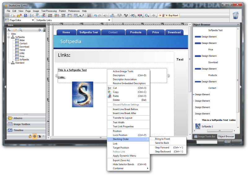 StudioLine Web Designer 4.2.60 Crack With Keygen Free Download