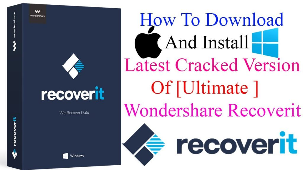 Wondershare Recoverit 9.0.10.12 Crack With Keygen Free Download