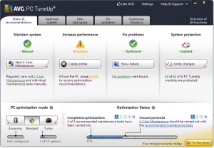 AVG PC TuneUp Crack 2021 With Full Keygen Free Download[Latest]