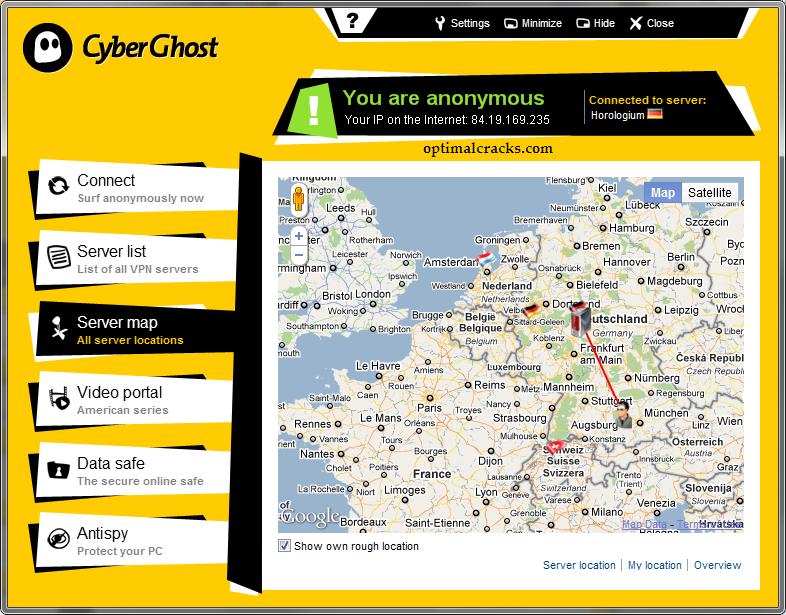CyberGhost VPN 8.2.07018 Crack Plus Activation Key Download Free [2021]