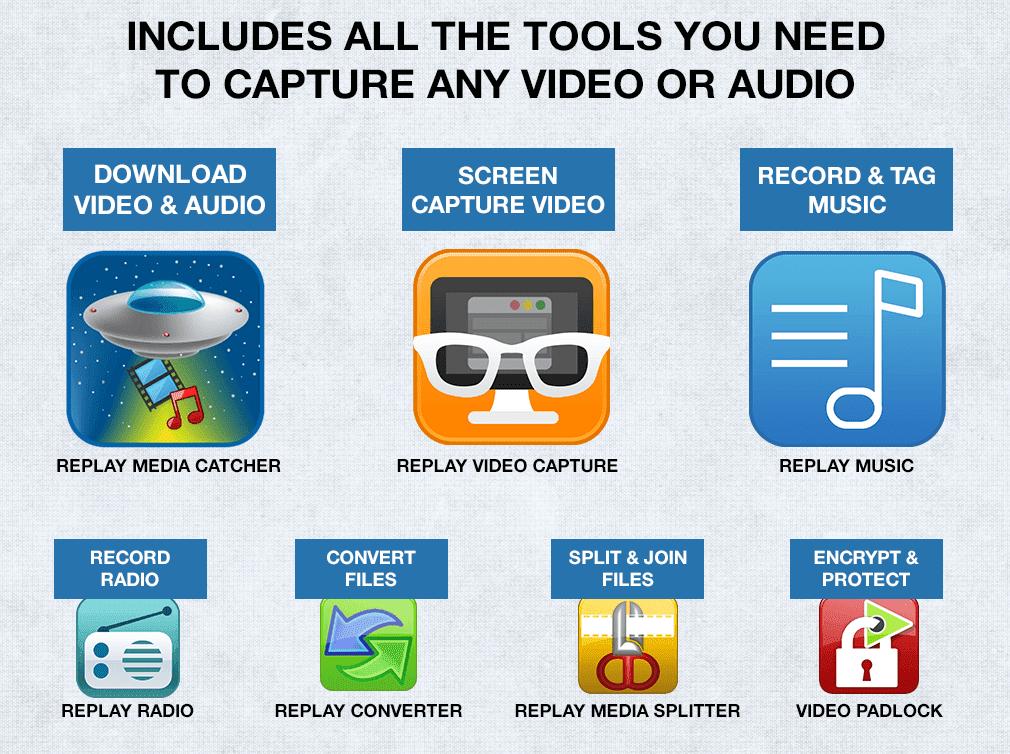 Replay Media Catcher 7.0.21.0 Crack + License Key Full Download 2021