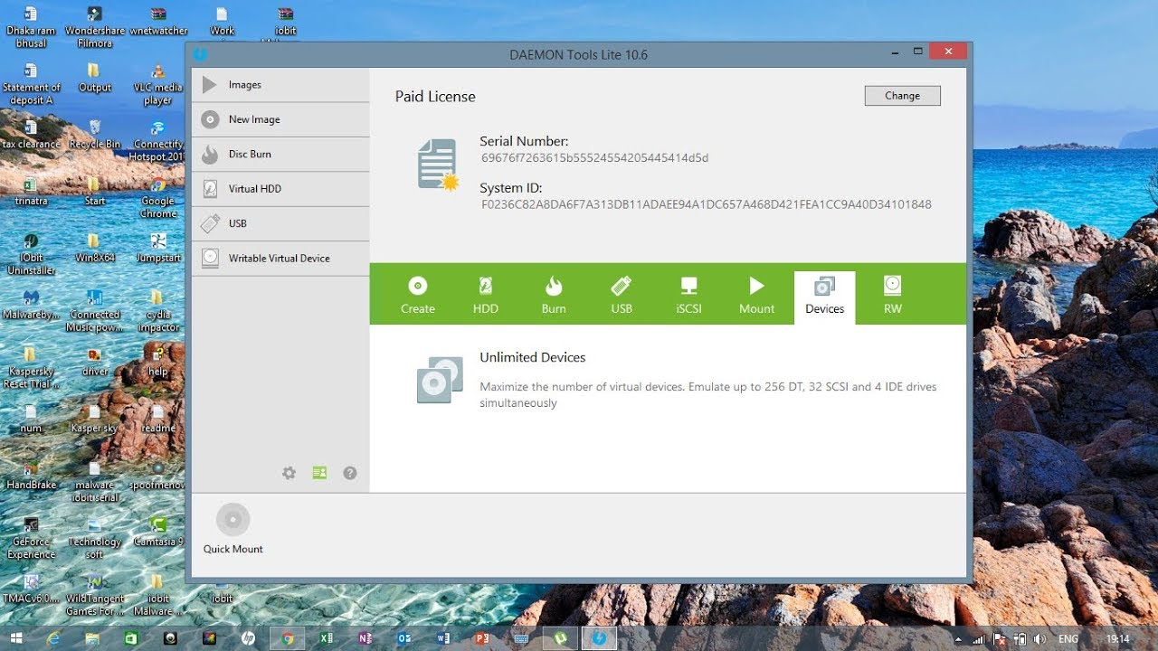 DAEMON Tools Lite 10.14.0.1709 Crack With Serial Number Free