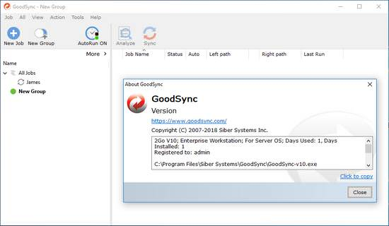 GoodSync Enterprise 11.7.3.3 Crack With Serial Key Full Download