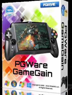 PGWare GameGain 4.7 Crack Keygen Free Download