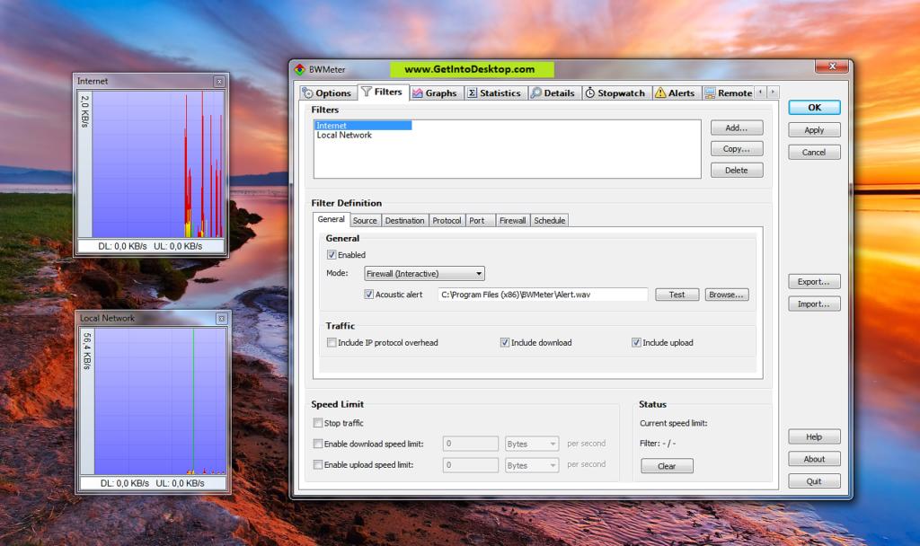 BWMeter 9.0.2 Crack Powerful Bandwidth Meter Free