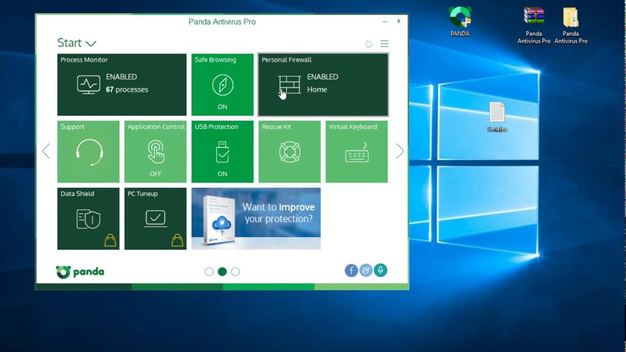 Panda Antivirus Pro 21 Crack Free PC Antivirus From Panda